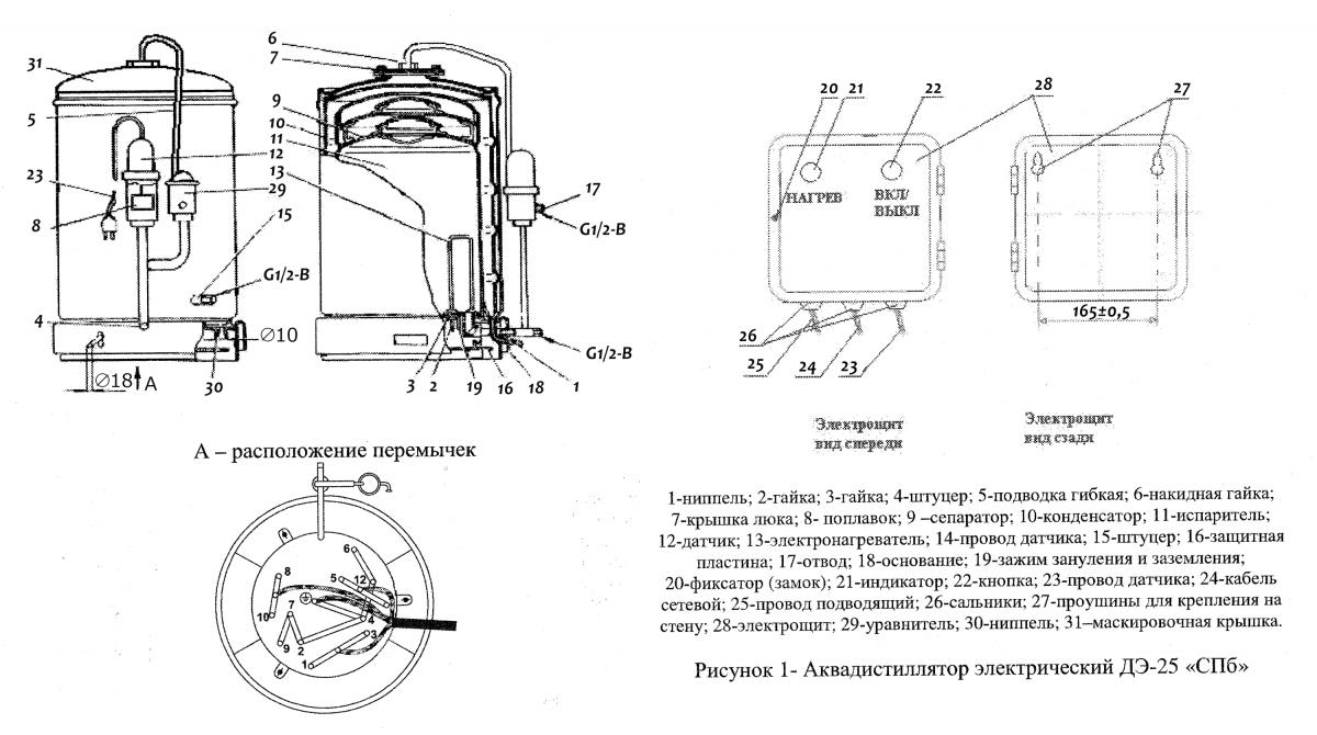 Электрические схемы.  Схема электрическая wd-8022.